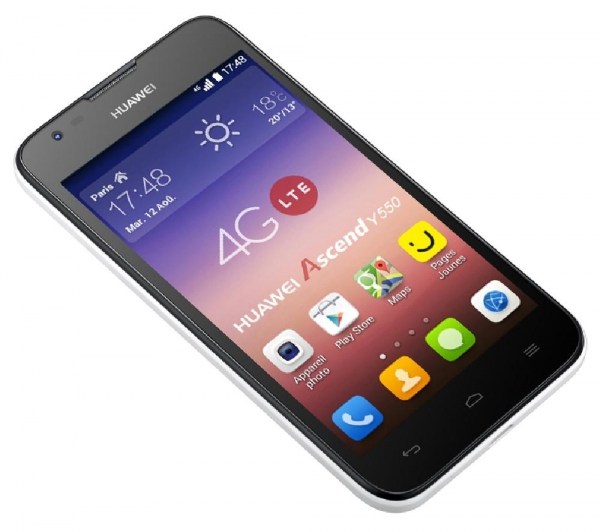 Safaricom Just Dropped The Huawei Ascend Y550